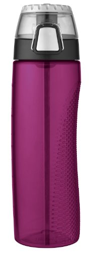 Thermos 24 Ounce Tritan Hydration Bottle with Meter, Magenta