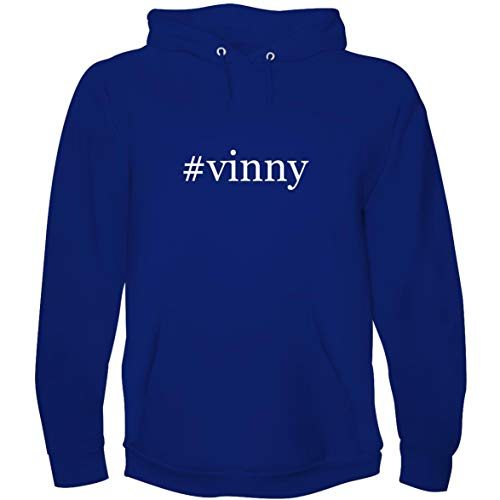 The Town Butler #Vinny - Men's Hoodie Sweatshirt, Blue, X-Large