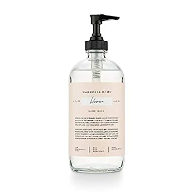 Magnolia Home Fragrance Bloom Scent 15 Ounce Large Cleansing Hand Wash Soap