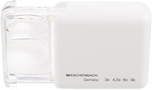 ESCHENBACH OPTIK 3X / 4,5X / 6X / 9X Schiebelupe