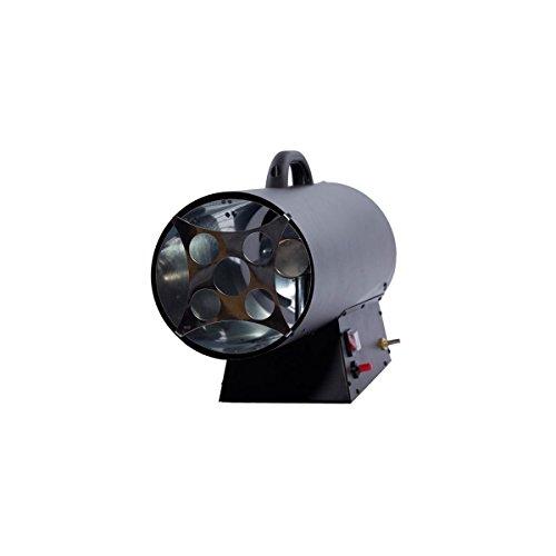 Canon à chaleur au gaz FUXTEC GH33-33 kW puissance de chauffage, 1000 m³/h débit d'air chaud, chauffage industriel gaz butane - propane