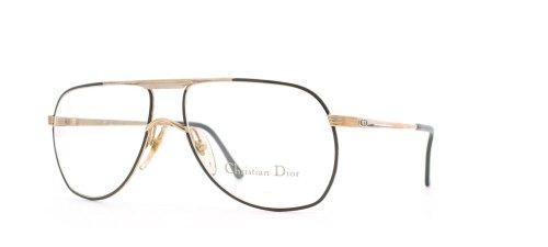 Christian Dior Herren Brillengestell Gold Gold Black
