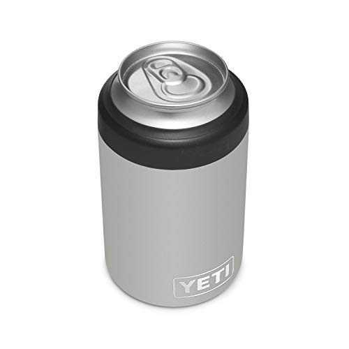 YETI Rambler 12 oz. Colster Can Insulator for Standard Size Cans, Granite Gray