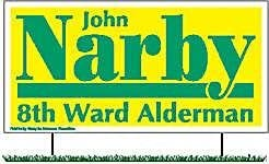Large 2X4 Political Manufacturer direct delivery New Free Shipping Realty Pop 100 Ct Signs
