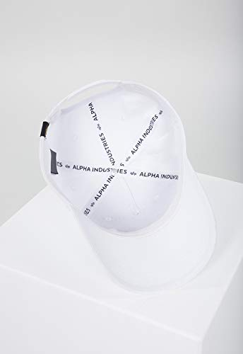 Alpha Industries Alpha Kappe Weiß