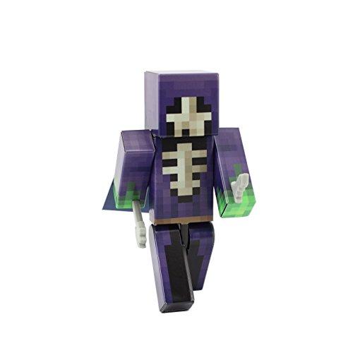 EnderToys Skull Mage Action Figure Toy, 4 Inch Custom Series Figurines