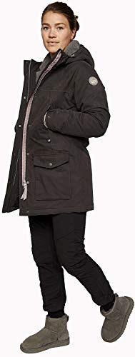 Varg Åre Parka Jacke Damen Phantom Black Größe M 2019 Funktionsjacke