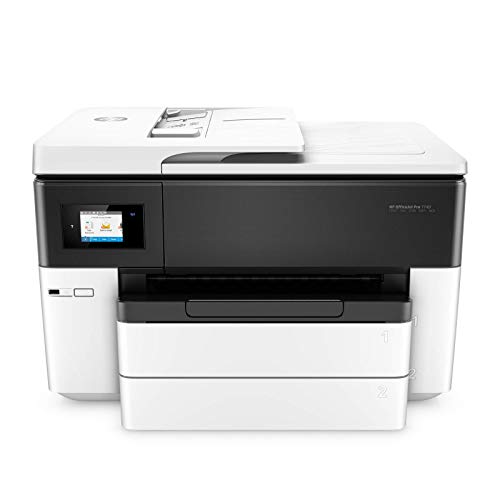 HP OfficeJet Pro 7740 Wide Format All-in-One Printer with Wireless Printing, Works with Alexa (G5J38A)