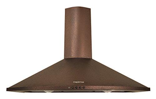 Mepamsa Tender H 90 V2 - Campana aspirante decorativa de pared, color cobre