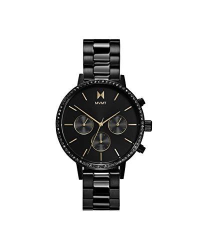 MVMT Damen Analog Quarz Uhr mit Kalbsleder aus Leder Armband 28000055-D