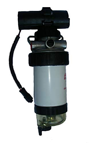 Fuel Pump & Fuel Filter Assembly For JCB DieselMax 444 CAT 422E 428D 428E 432D Loader 248B 287B 262B 252B 246B 277B 268B 236B 267B CAT Engine 3044C OEM 320/07207 232/5877 -  Arko Tractor Parts