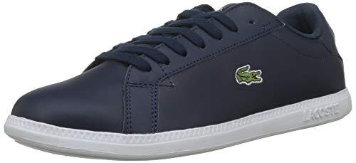 Lacoste Damen Graduate BL 1 SFA Sneaker, Blau (Navy/White), 40 EU