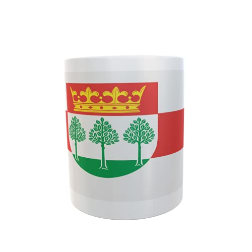 U24 Tasse Kaffeebecher Mug Cup Flagge Kronshagen