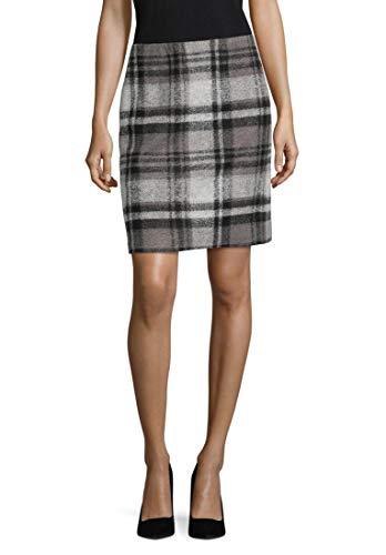 Betty Barclay Damen 3935/8201 Rock, Mehrfarbig (Black/Grey 9893), (Herstellergröße: 38)