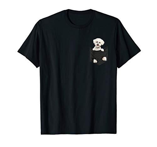 Bichon Frise in your pocket T-shirt | Bichon frise gift