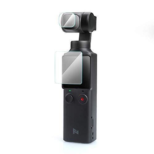 【4枚入り】FIMI PLAM カメラフィルム 強化ガラス GEEMEE 2枚カメラレンズフィルム+2枚スクリーンフィルム ...