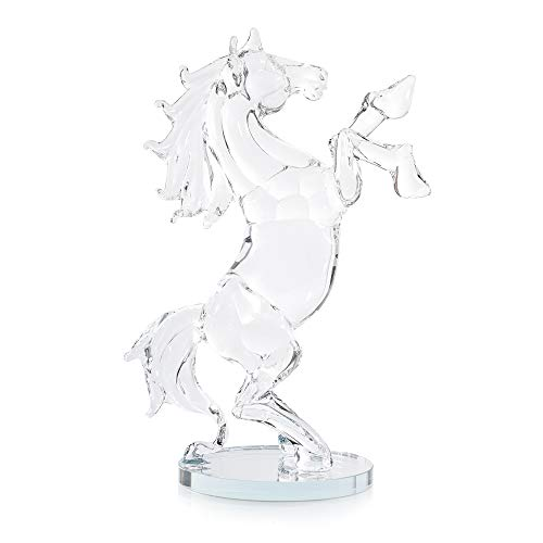 London Boutique - Caballo decorativo de cristal para regalo