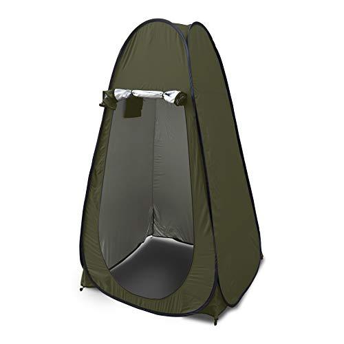 Pop Up Zelt, Ultraleicht Zelt Anglerzelt ideal für Toiletten Zelt, Camping Dusche, Umkleidezimmer, 2 Personen Zelt