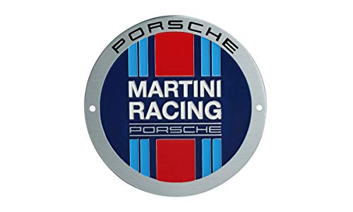 Porsche Original Posche Grillbadge Emblem Plakette – Limited Edition – Martini Racing