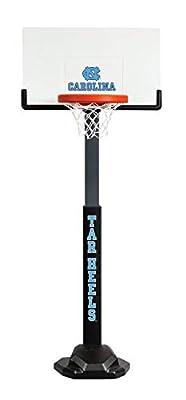 NCAA North Carolina Tarheels Huplay Team Basketball Hoop, Adjustable