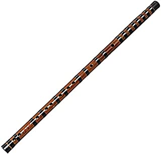 LBSX Professional Playing Flute Bamboo Flute Flute, Key of C (Color : E)