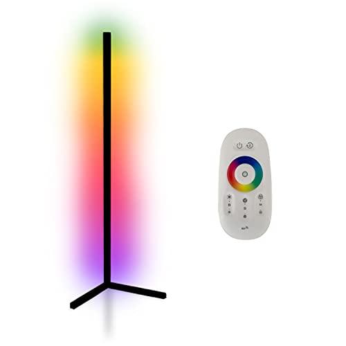 INNOVATE LED Stehlampe - Über 3 Millionen Farben - Steuerung per Fernbedienung