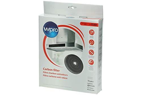 Wpro FAC309 Filtre de Hotte à Charbon Type 30 Diamètre: 235 mm Rechargeable