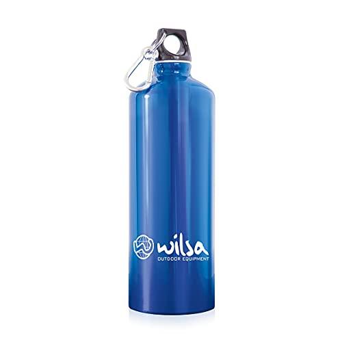 Wilsa – Botella reutilizable – Botella de senderismo – 1,5 L