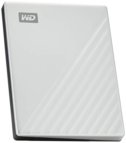 WD My Passport Ultra for Mac externe Festplatte 2TB (mobiler Speicher, WD Discovery Software, Passwortschutz, Mac kompatibel, einfach einzusetzen) silber