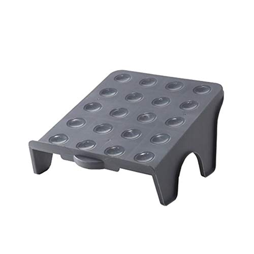 Zapatero de almacenamiento antideslizante para zapatos, organizador de zapatos, reutilizable, espacio de soporte para calzado, soporte para calzado, soporte duradero (color: gris)
