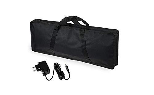 borsa per tastiera per Casio SA-46/47 e SA-76/77/78 con alimentatore