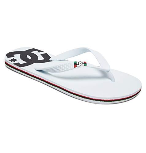 DC Shoes Spray - Flip-Flops for Men - Sandalen - Männer - EU 43 - Weiss