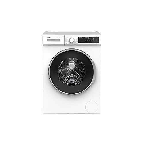 Teka | Lavadora de libre instalación con 15 programas de lavado | Modelo WMT 40720 SS | Eficiencia Energética D | 84.5 x 59.6 x 53.3 | Blanco
