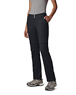 Columbia Women's Saturday Trail II Convertible Pant, Water & Stain Resistant, 24W Short, Black (B00L1RA09M) | Amazon price tracker / tracking, Amazon price history charts, Amazon price watches, Amazon price drop alerts