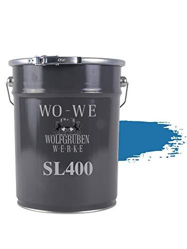 Vernice per Piscina Rivestimento Pool Colore SL400 Blu luce simile RAL 5012-5L