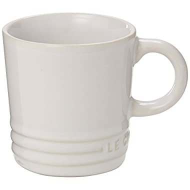 Le Creuset Stoneware Petite Espresso Mug, 3.5-Ounce, White