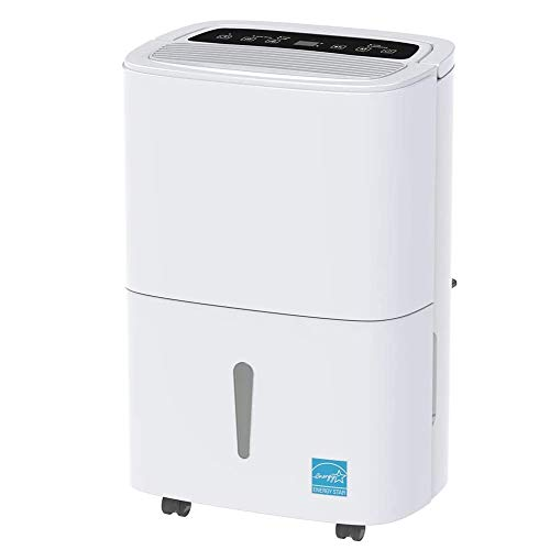 Review Of HWZQHJY 30 Pint Dehumidifier, for 1500 Sq.Ft Medium Spaces, Continuous Gravity Drain, Quie...