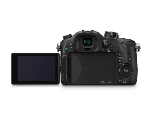 PANASONIC LUMIX GH4 Body 4K Mirrorless Camera, 16 Megapixels, 3 Inch Touch LCD, DMC-GH4KBODY (USA Black)