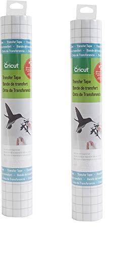 Cricut Vinyl Transfer Tape, 12X4, Standard Grip(2 Pack)