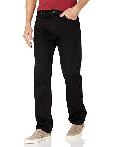 Pantalones Levi's 505® Regular Fit vaqueros con ligero lavado a la piedra Negro 28W x 32L