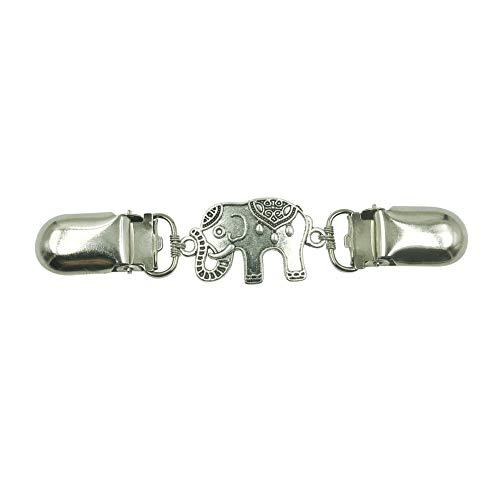 Mulitigy Cardigan Clip Elefant Kleidung Pullover Cincher Clip T-Shirt Clips für Frauen