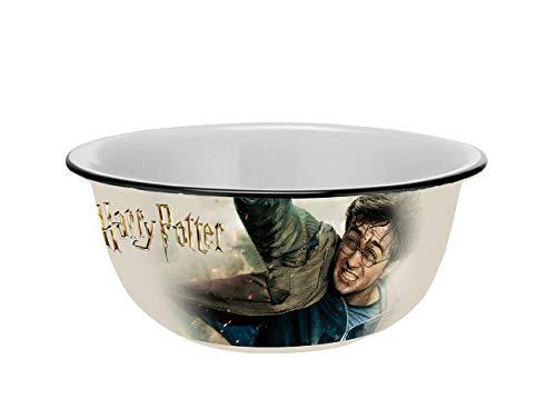 Warner Brothers Harry Potter 13280 Cuenco de cerámica con aspecto de esmalte