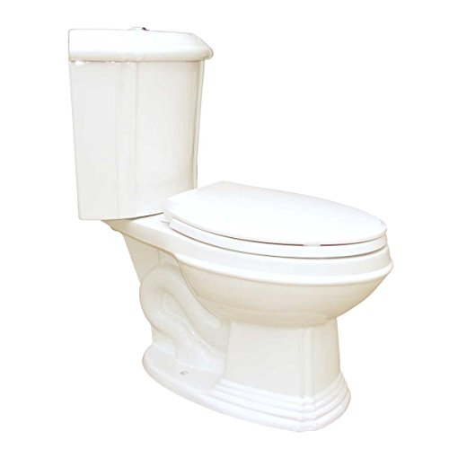 Bone China Elongated Space Saving Corner Toilet