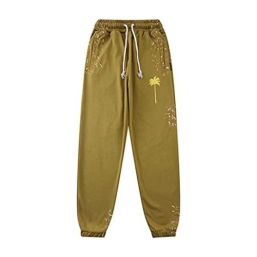 Zcbm Largos Pantalones Deportivos Jogger Pantalon Chandal con Bolsillos Y Cintura Elástica para Deportes Correr Fitness