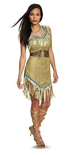 Womens Deluxe Pocahontas Costume Large