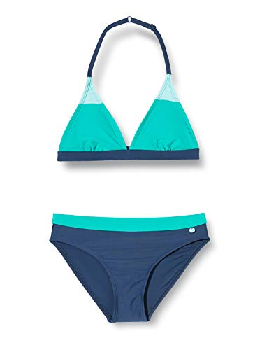 ESPRIT wear Mädchen Ross Beach YG Triangle+ - leger Bikini-Set, 470, 140/146