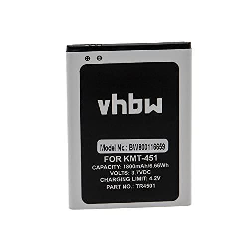 vhbw batteria sostituisce Archos AC50TI4G per smartphone cellulare (1800mAh, 3,7V, Li-Ion)