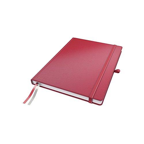 Leitz 44710025 Complete Notizbuch, A4, kariert, rot