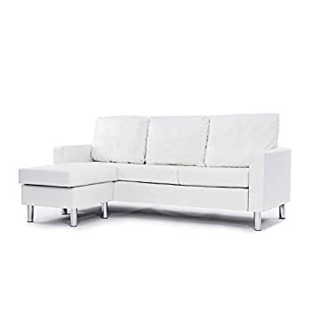 Best white leather sectional sofa Reviews
