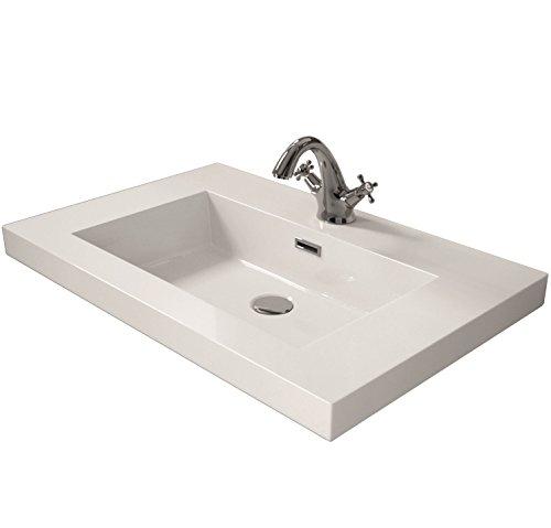 Cygnus Bath - Lavabo carica minerale di 60 cm,
